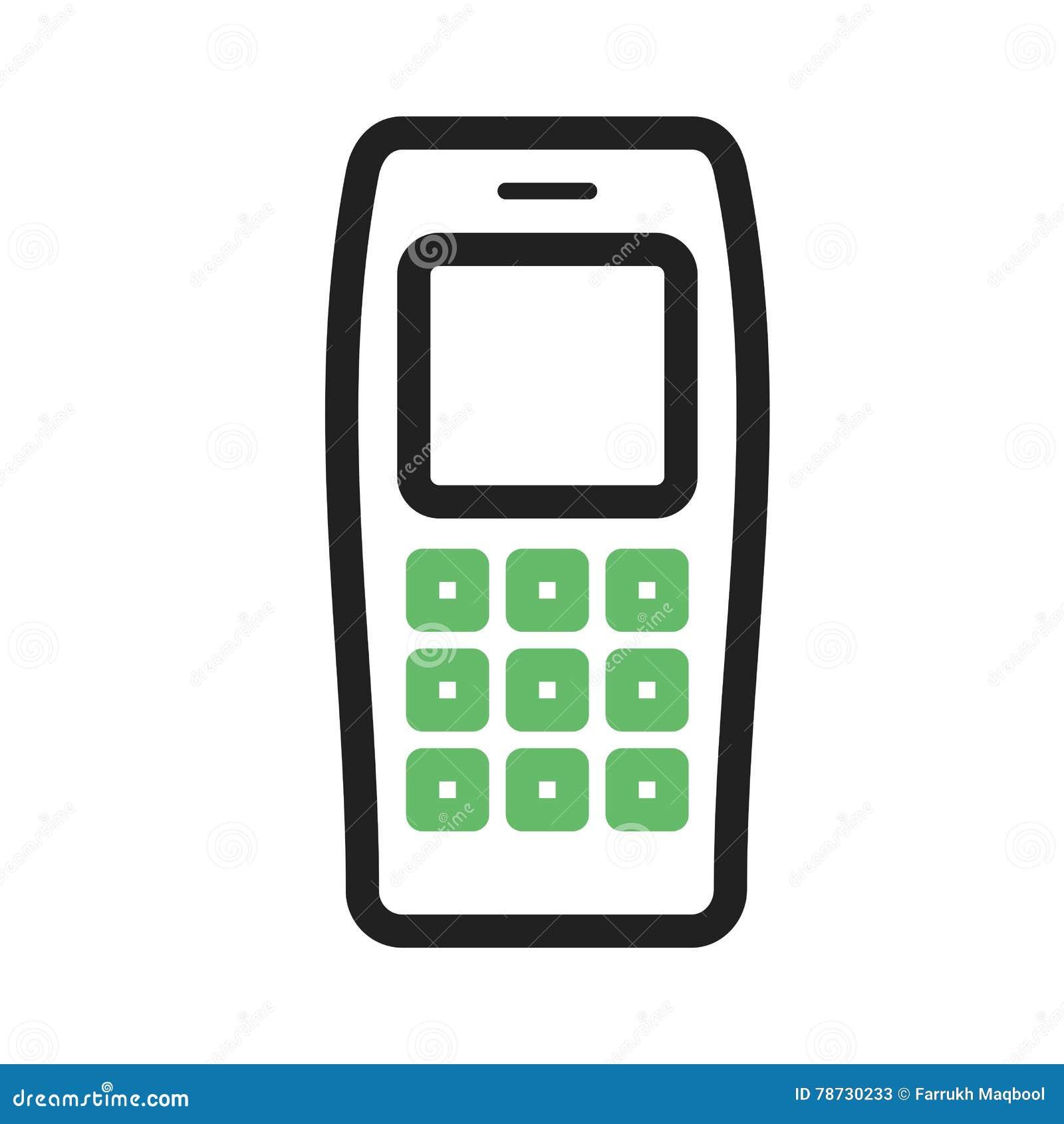 Buttons celltelefonen