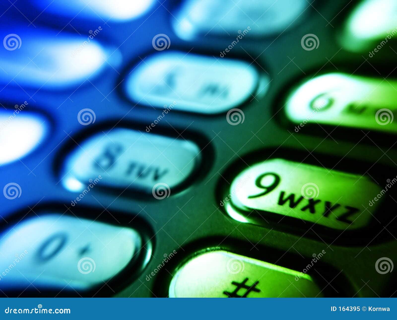 Buttons den mobila telefonen