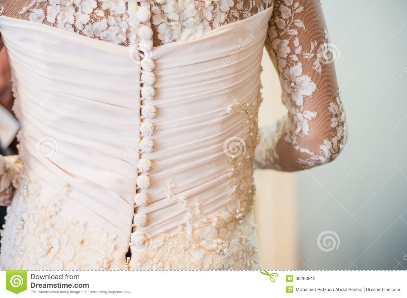 Buttons on dress stock illustration. Illustration of accessories ...
