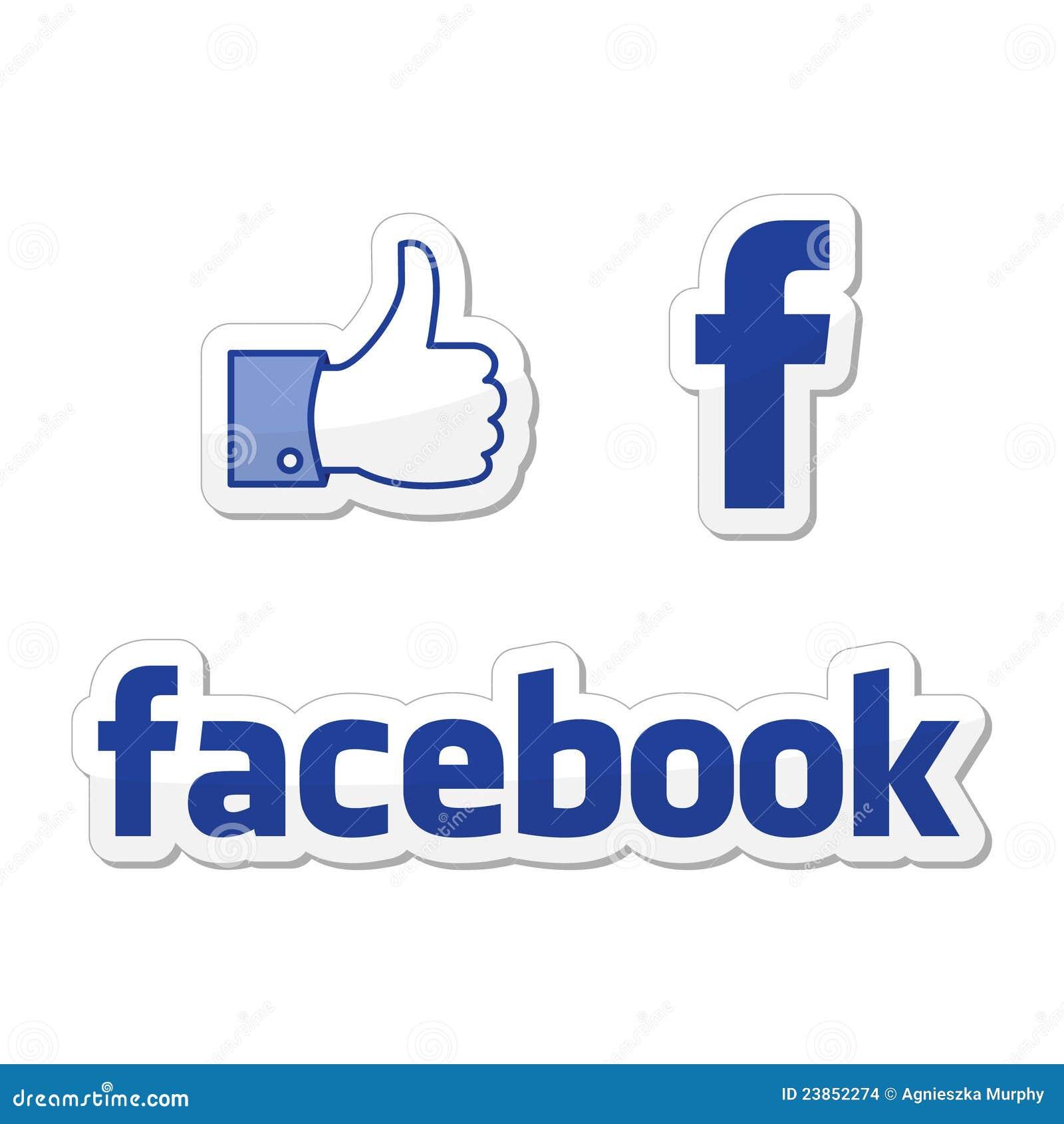 Buttons facebook som