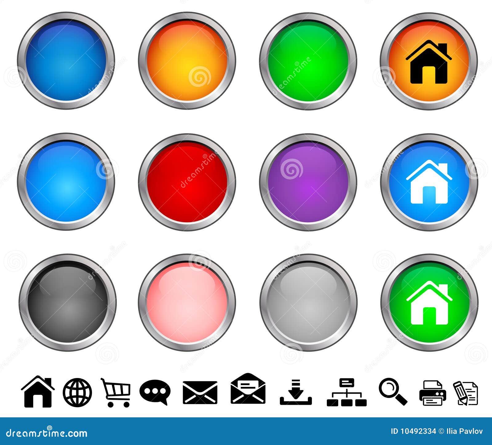 Buttons internet