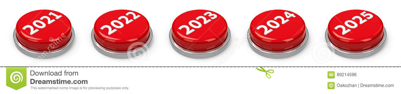 Buttons - 2021 2022 2023 2024 2025