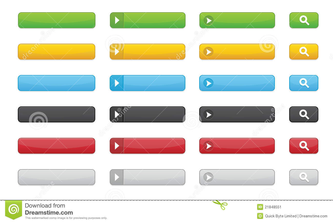 Buttons For Websites Stock Image - Image: 21848551