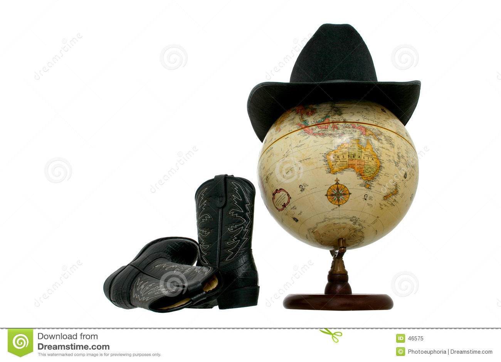Buty globe kapeluszu western