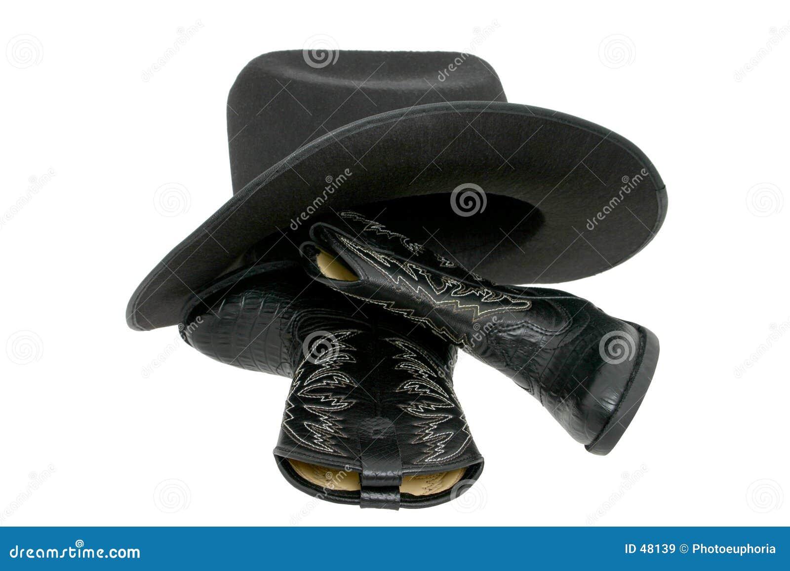 Buty miałem kowbojski kapelusz