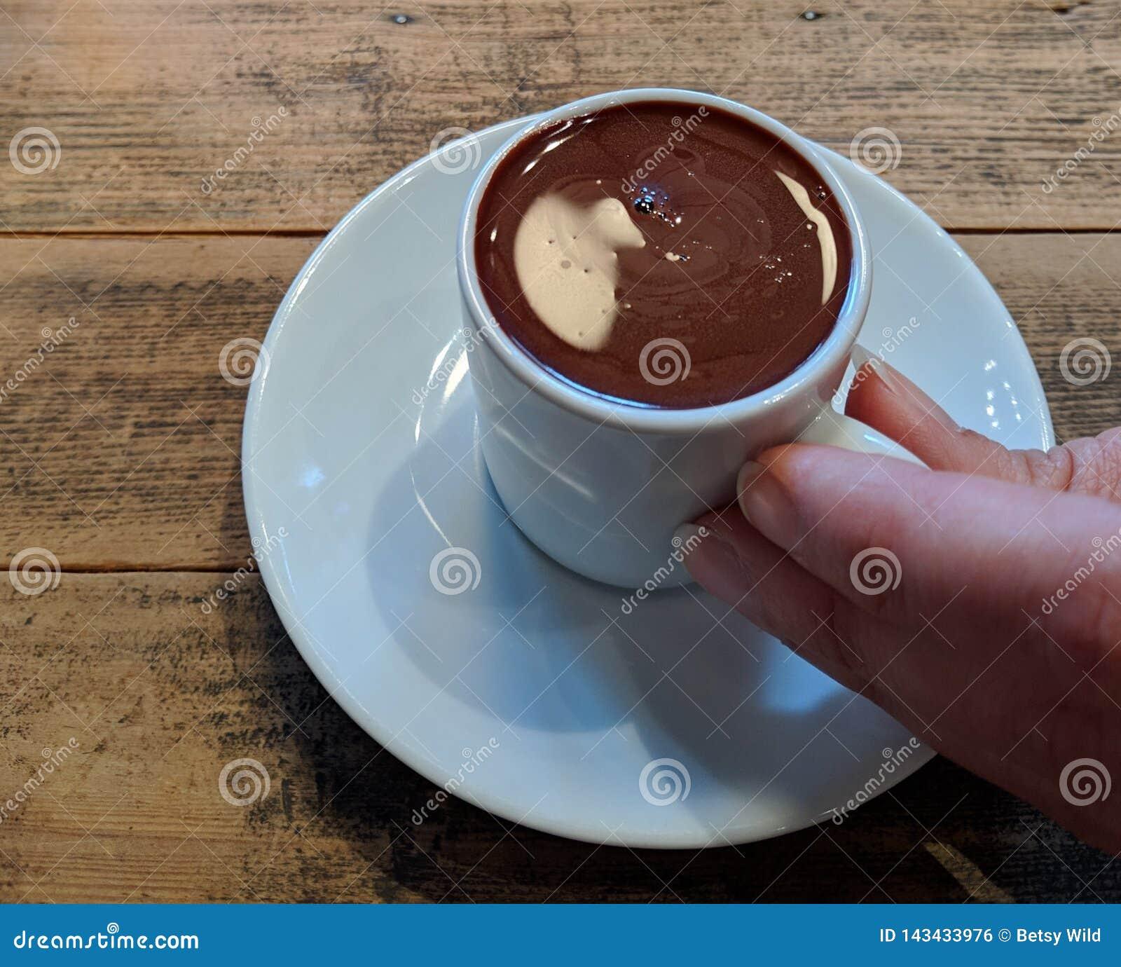 Buvez de votre chocolat