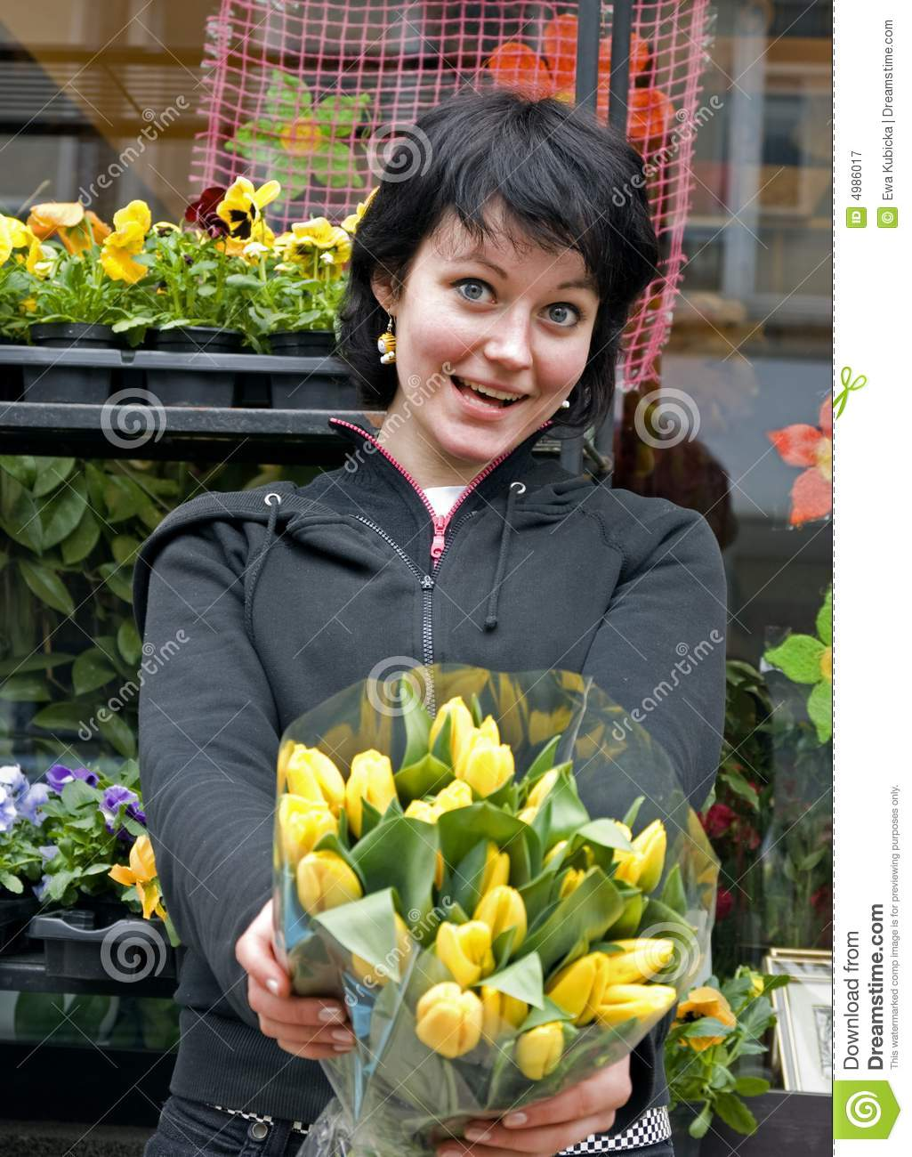 Buy My Flowers Royalty Free Stock graphy Image