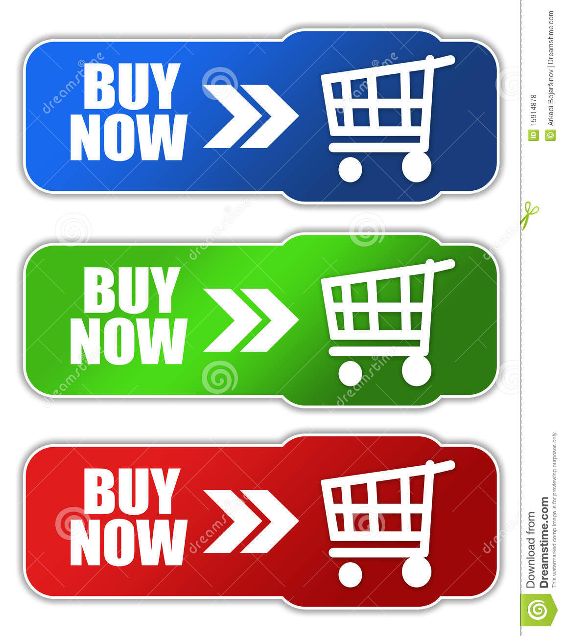 Buy Now Button Stock Illustration. Image Of Advertising