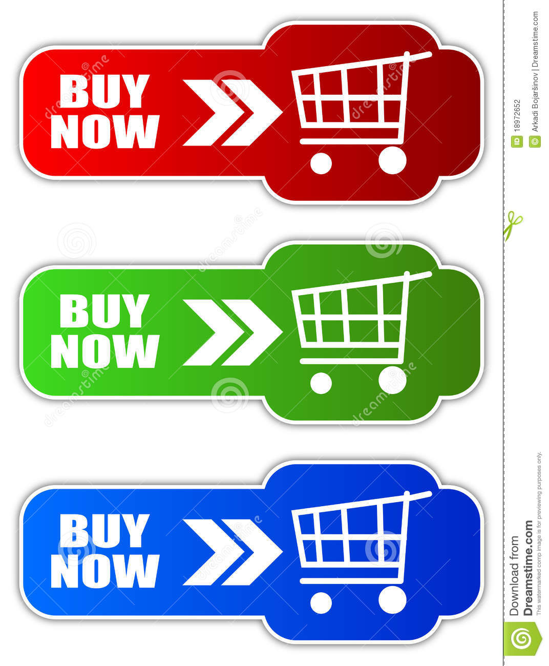 Buy It Now: Buy Now Button Stock Vector. Illustration Of Commerce