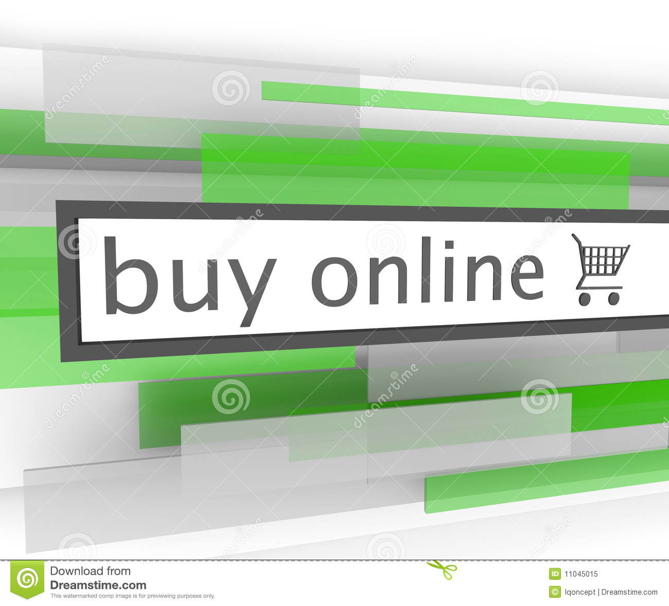 Buy: Website Shopping Cart Royalty Free Stock