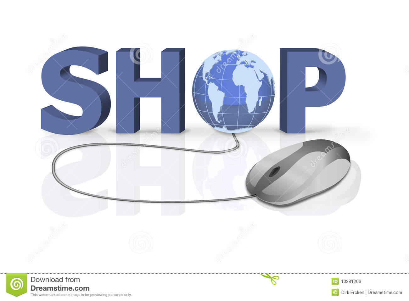Shop At Home buy shopping shop at home stock illustration