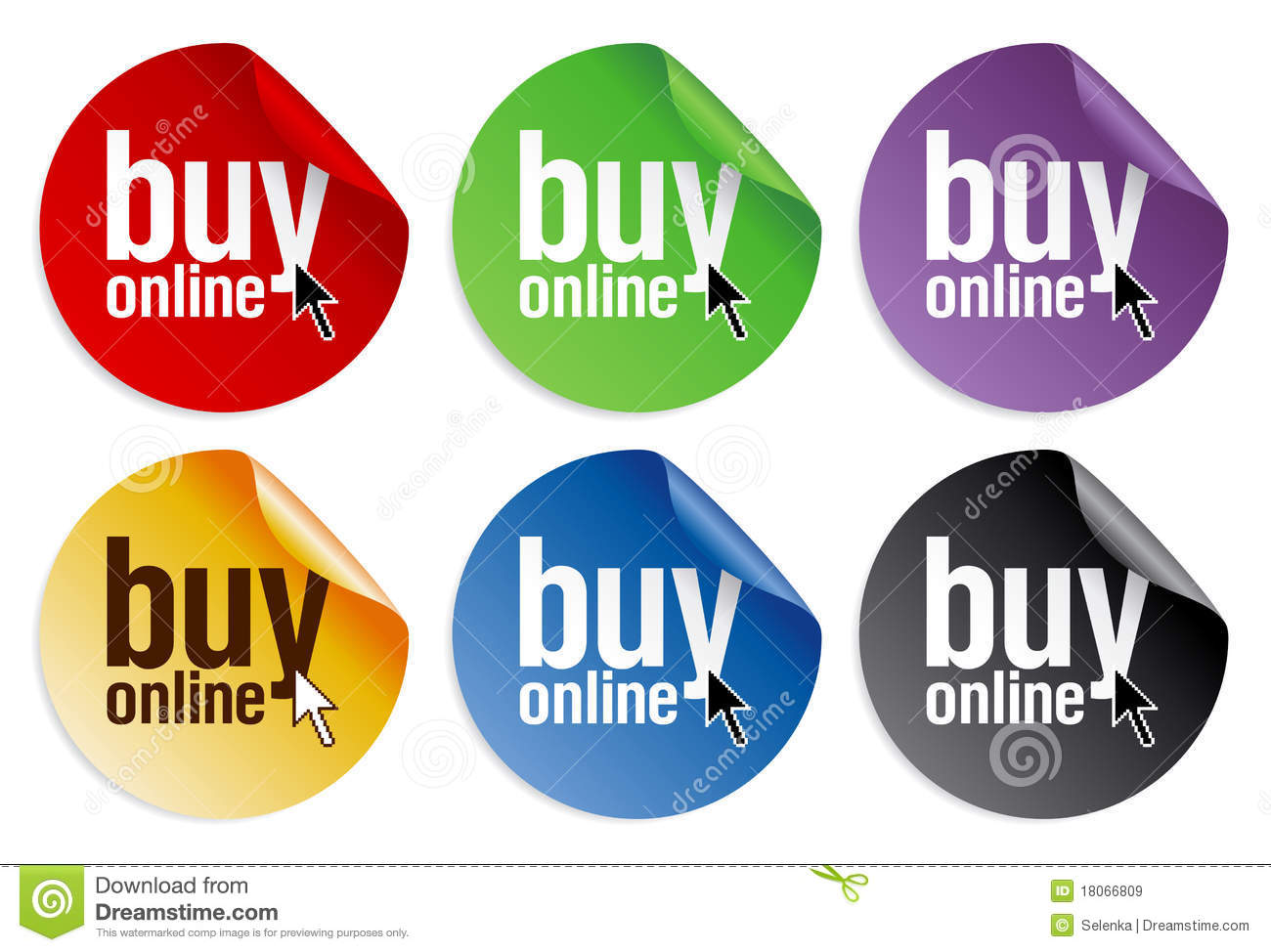 Buy online stickers stock vector image of consumption for Pictures to buy online