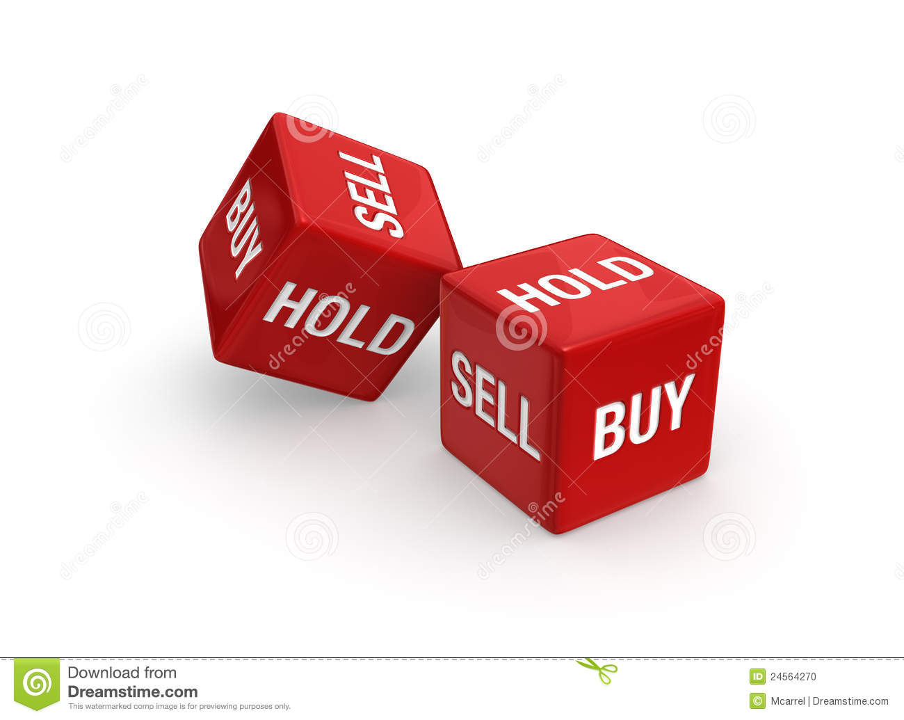 Photo-real illustration of Two red dice engraved with Buy, Sell, and ...: dreamstime.com/stock-photo-buy-sell-image24564270