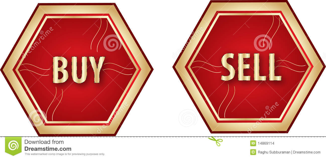 Buy And Sell Button Stock Images - Image: 14869114: www.dreamstime.com/stock-images-buy-sell-button-image14869114