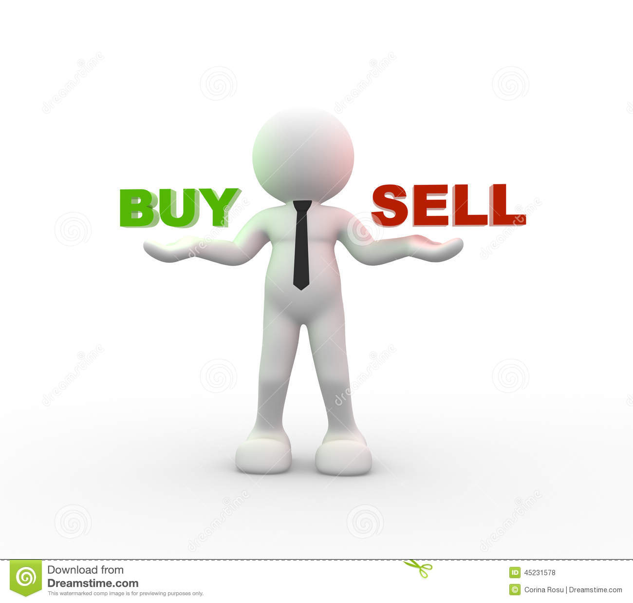 how to sell and buy at the same time