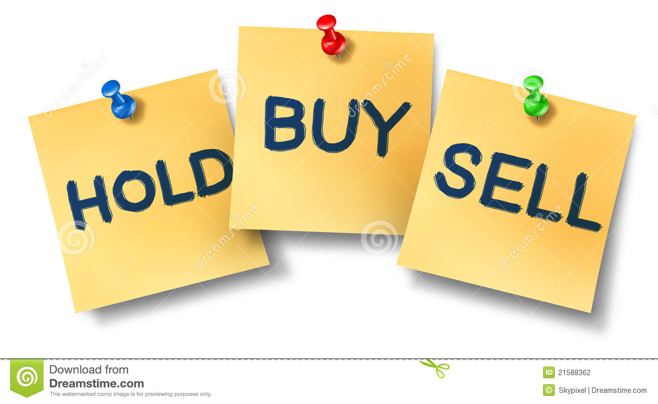 Buy sell hold office notes