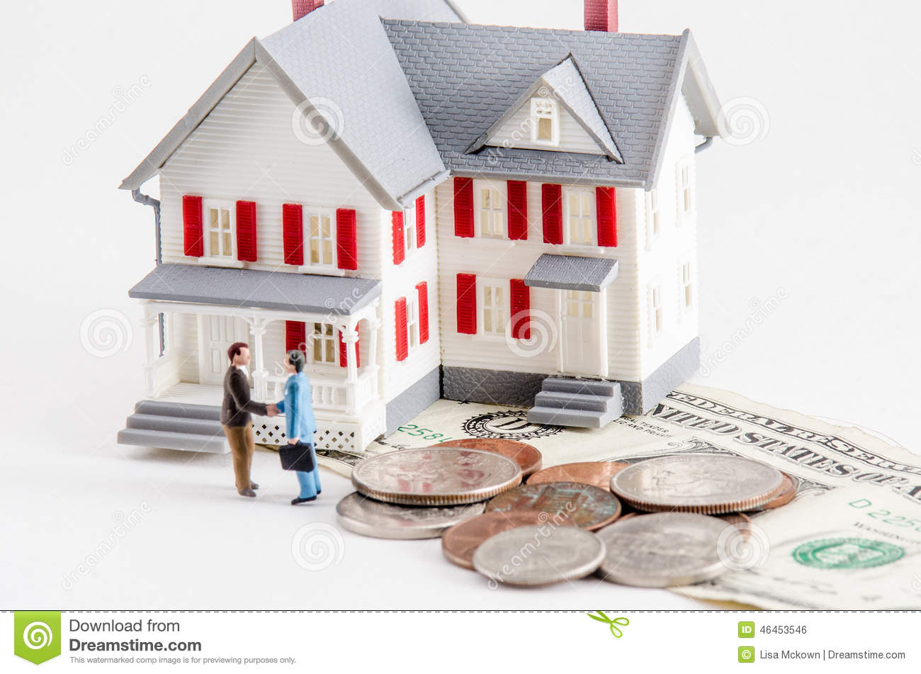 Buy Or Sell A House Stock Photo Image 46453546 On How To Buy A House With