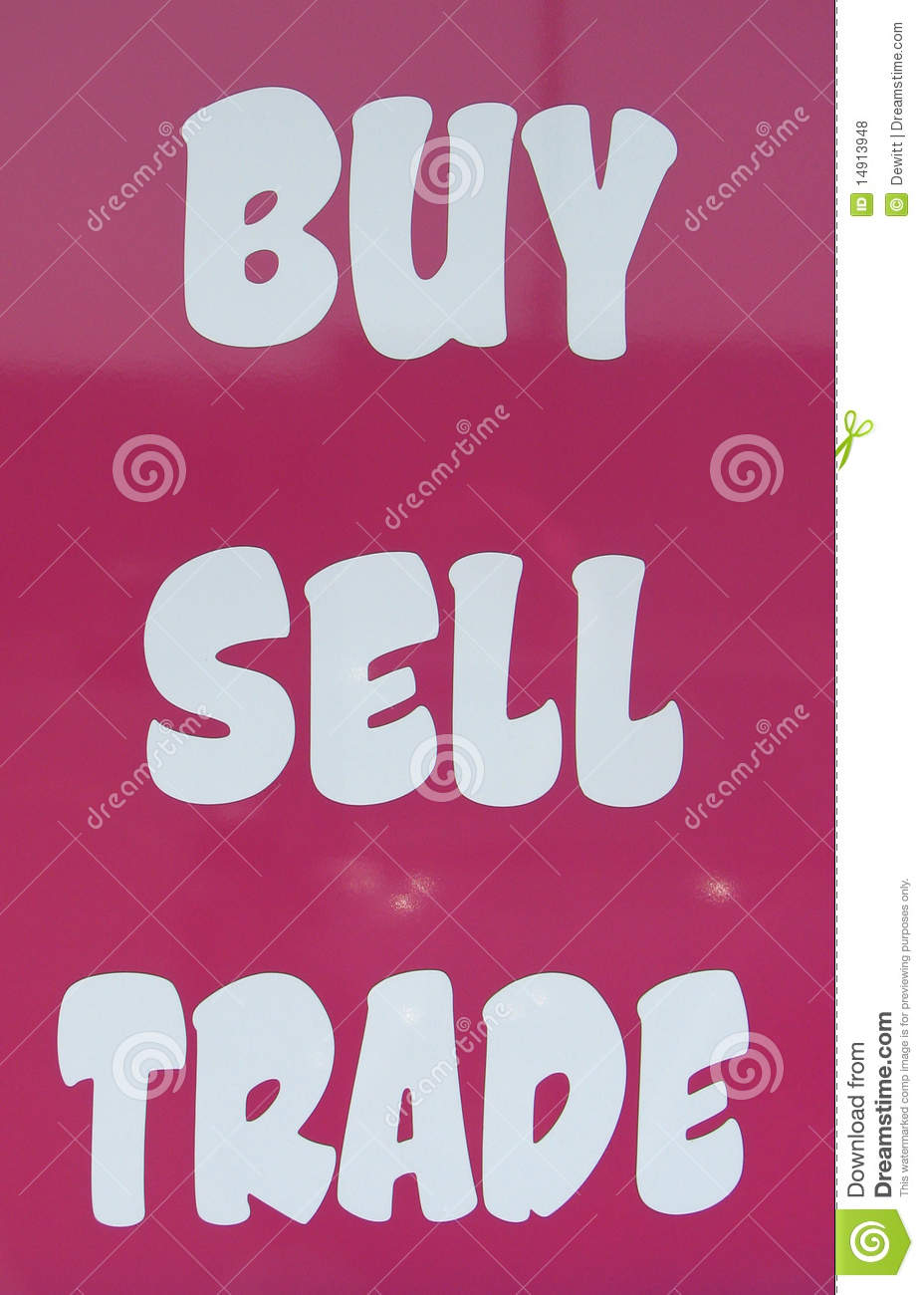 Buy and sell clothing stores