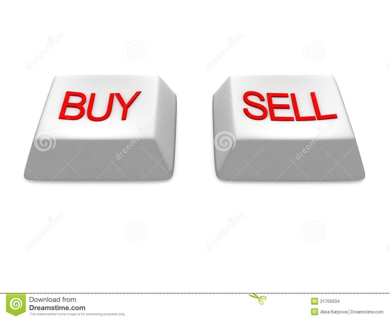 Buy And Sell White Buttons Keys Stock Images - Image: 21709334: dreamstime.com/stock-images-buy-sell-white-buttons-keys-image21709334