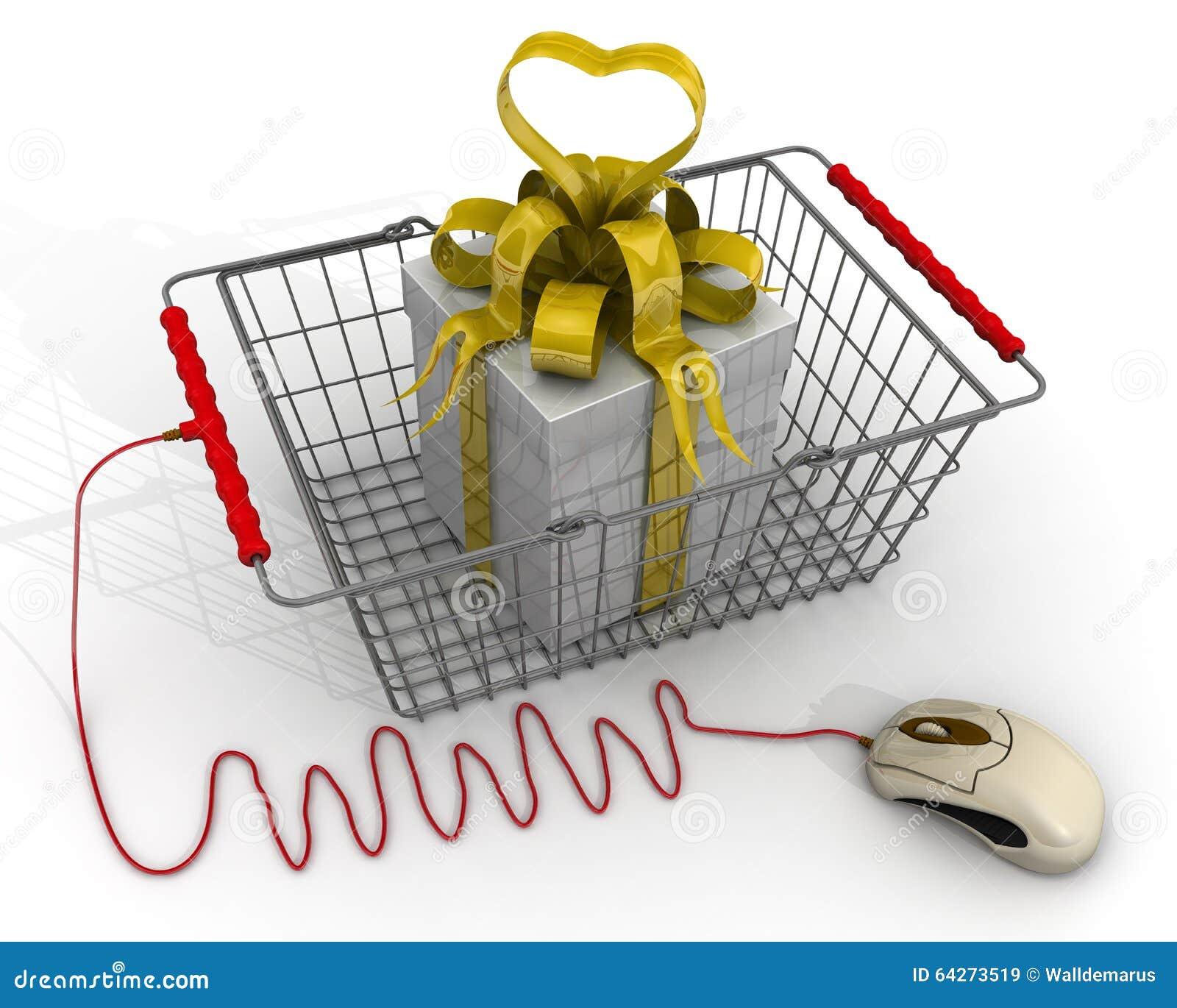 Online shopping box