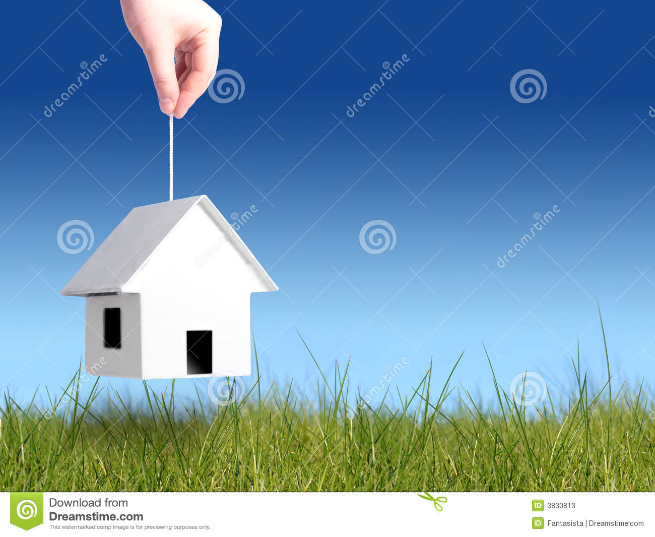 Buying house concept