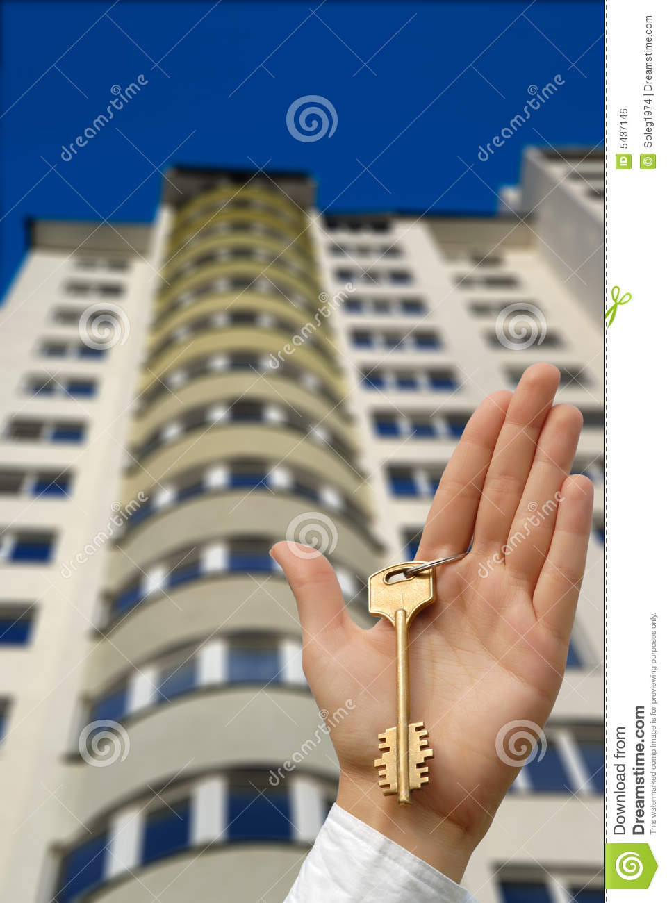 Buying new apartment stock photo. Image of home, house ...