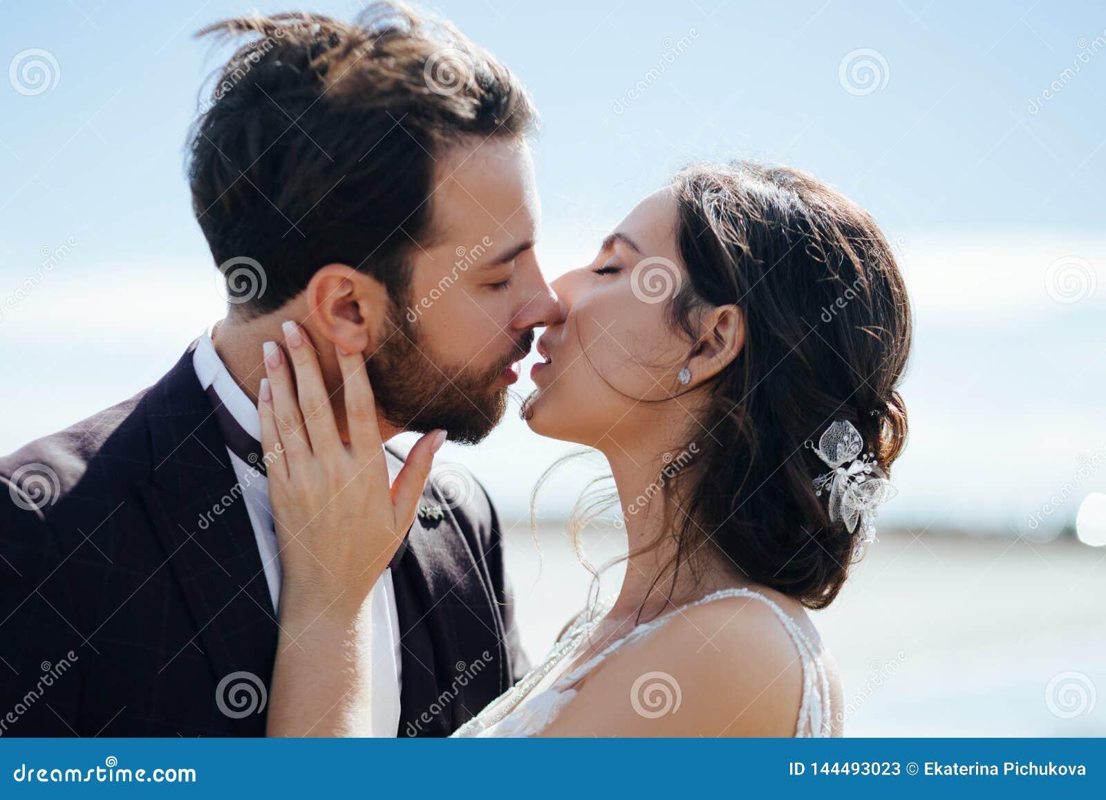 Buziak miłości państwo młodzi