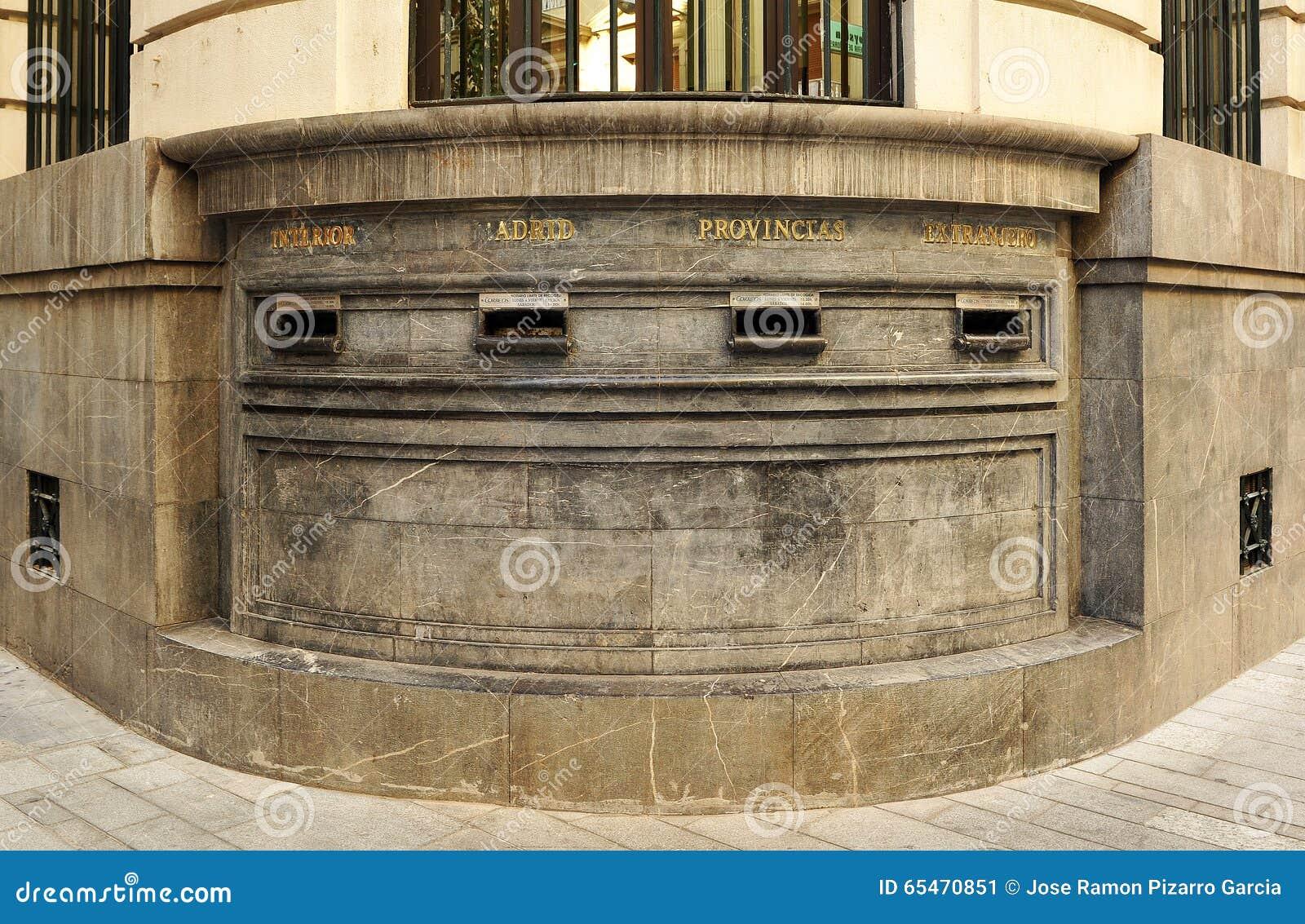 Buzones de correos precios interesting buzones de for Oficina central correos madrid