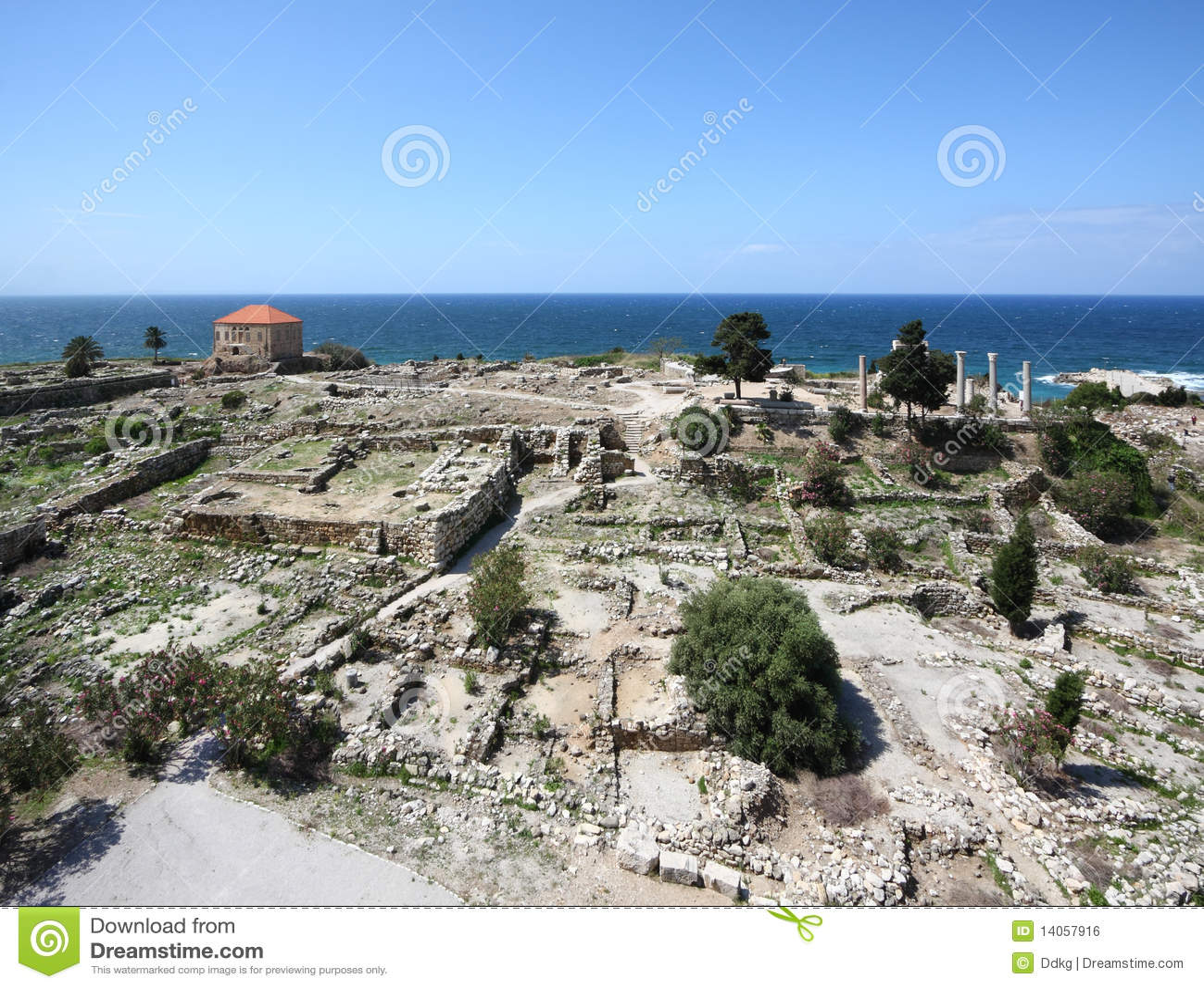 Byblos Archeological Site, Lebanon