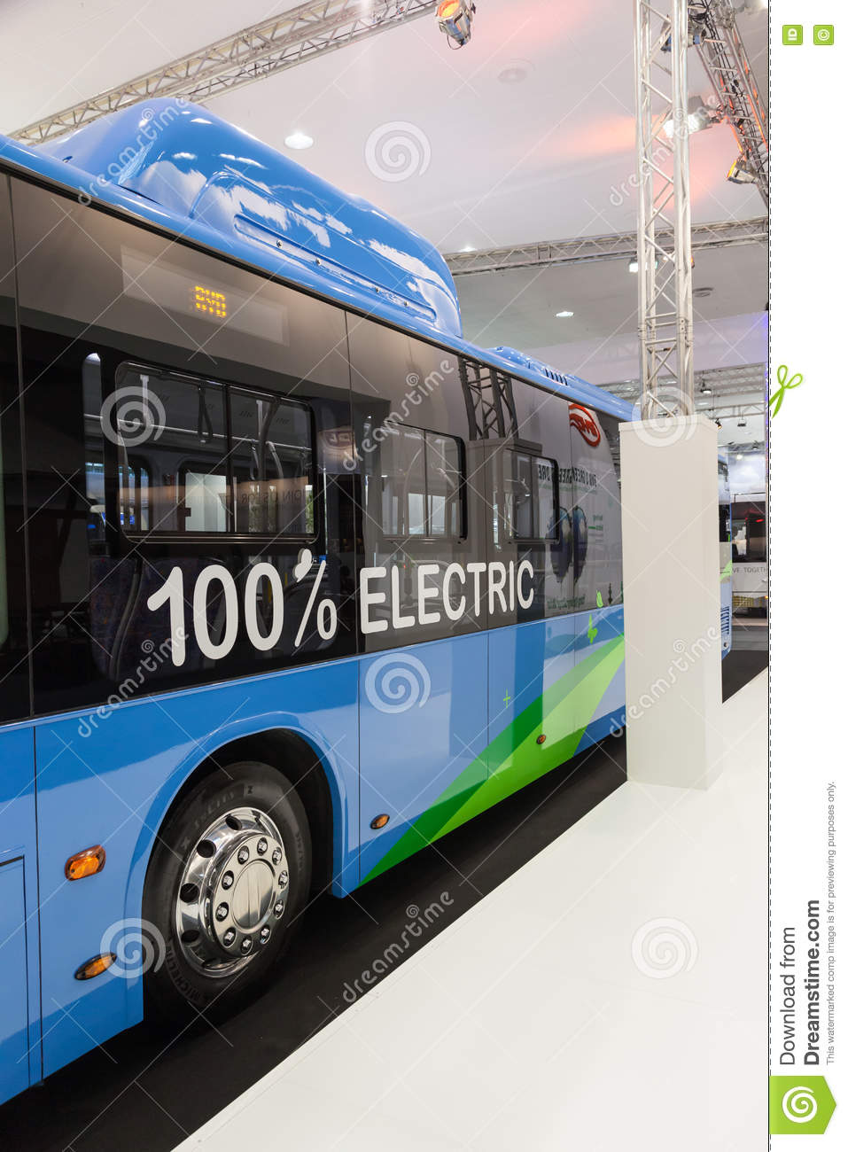 ff9a2efed7 BYD electric bus editorial image. Image of commercial - 77798510