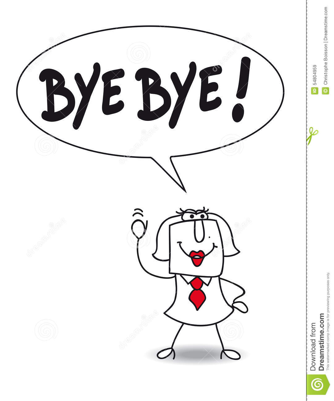 bye cartoons  illustrations  u0026 vector stock images
