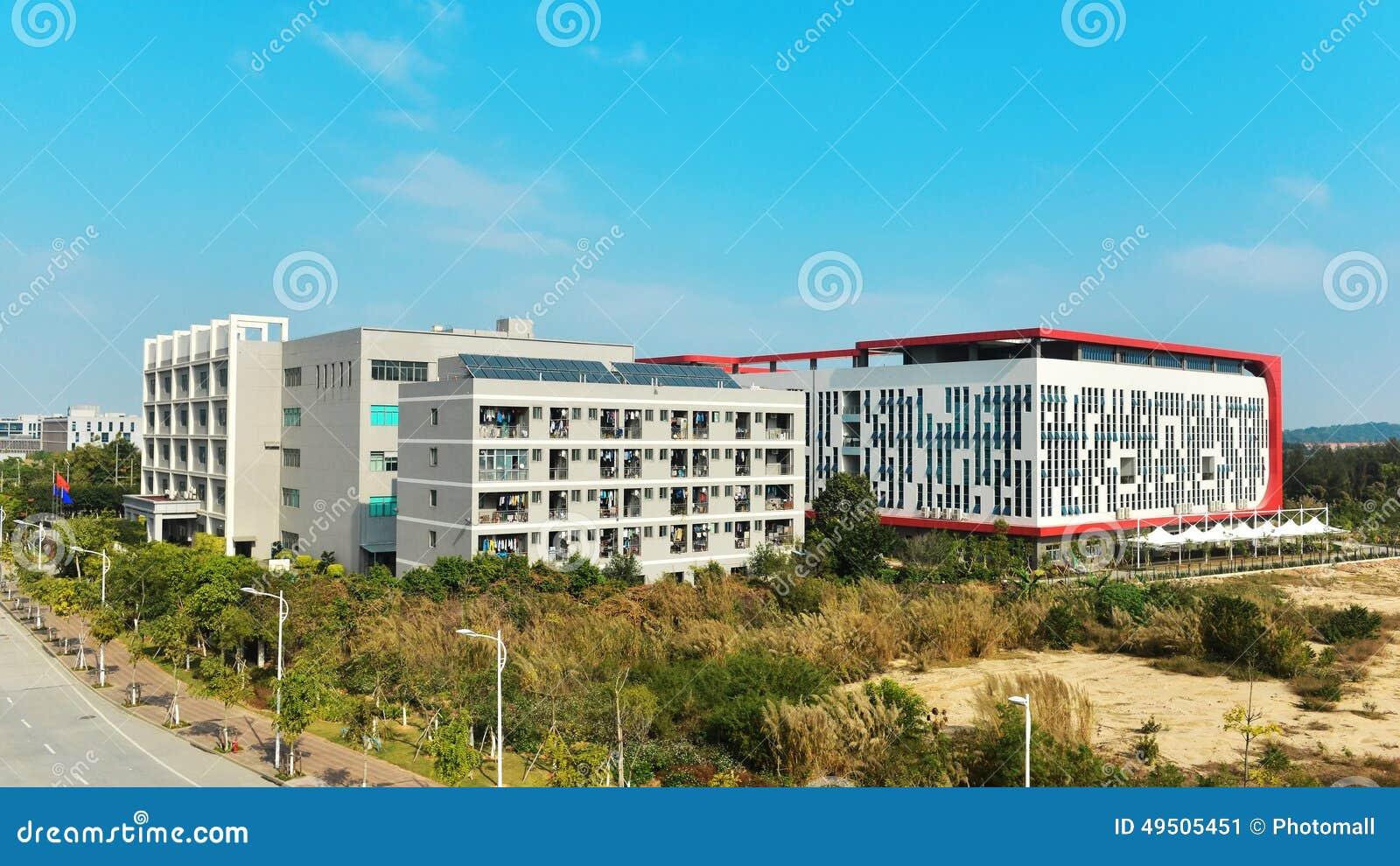 Byggande företags yttermodernt nytt kontor