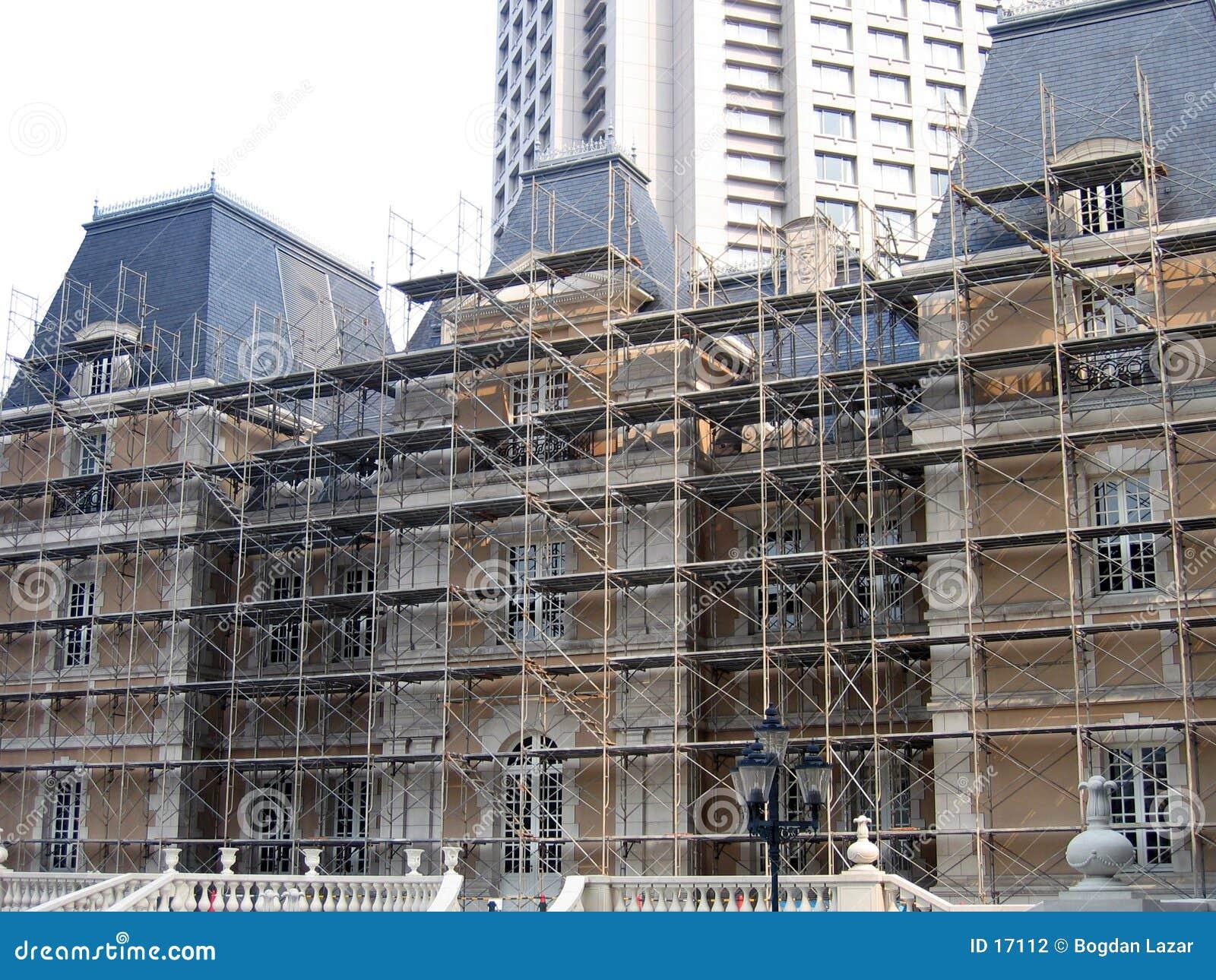 Byggande historiskt renovera