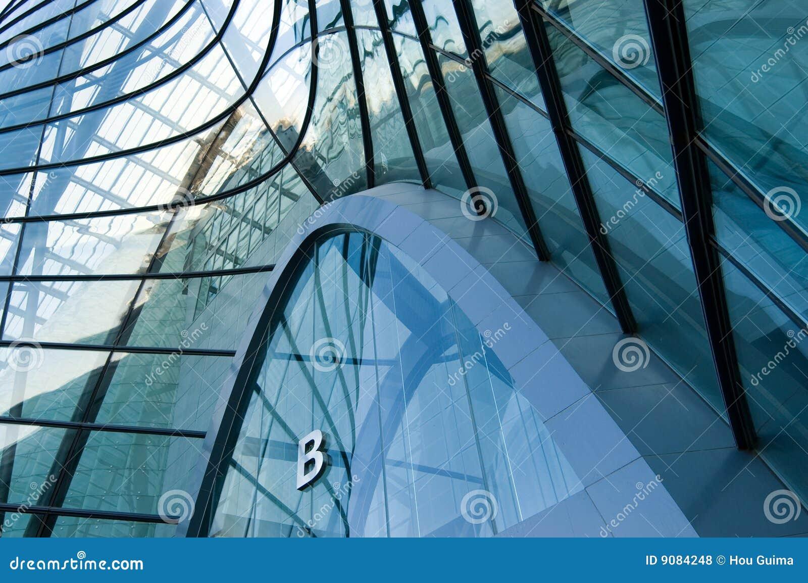 Byggande moderna fönster