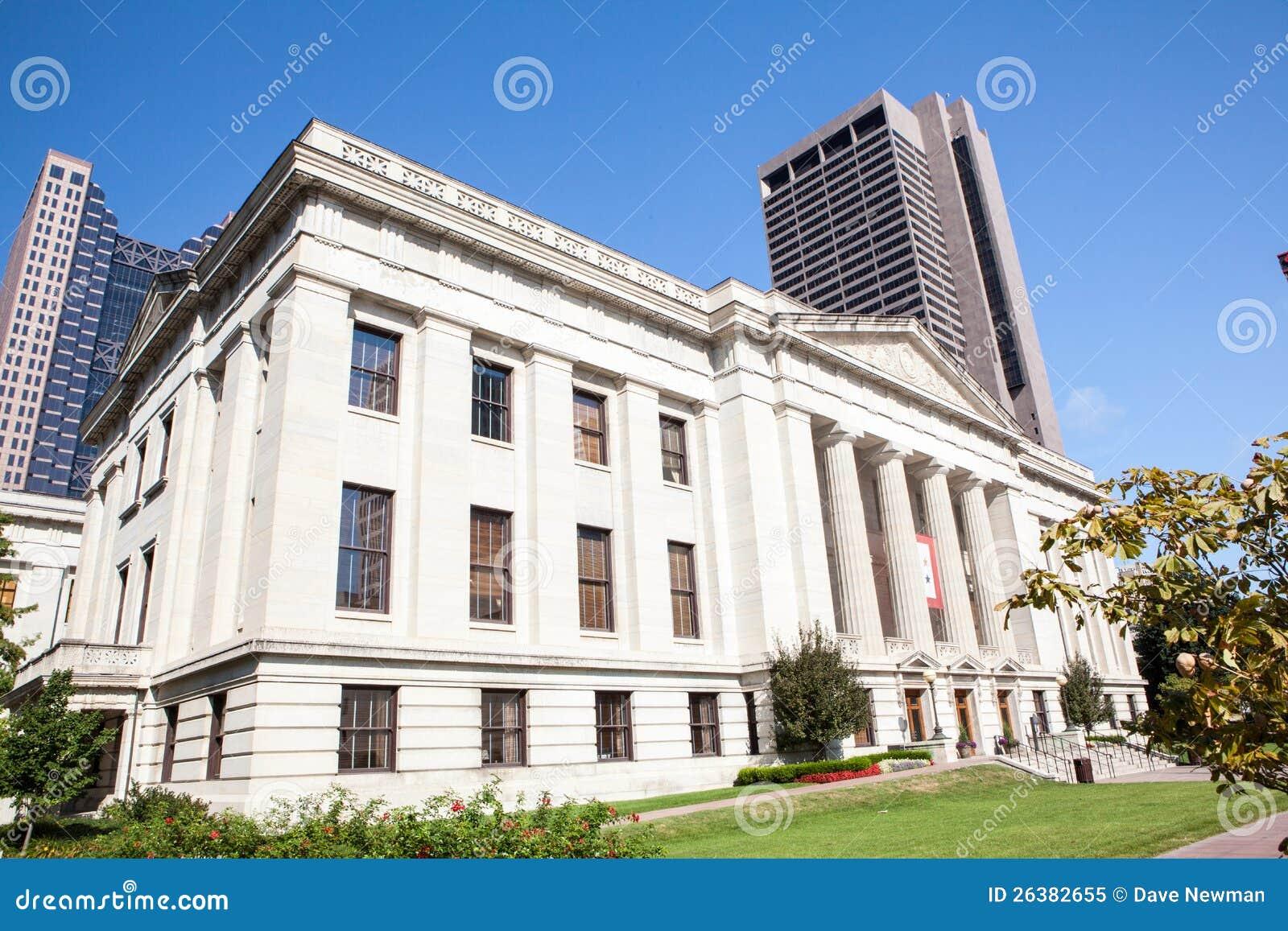 Byggnad för för Ohio tillståndshus & Capitol