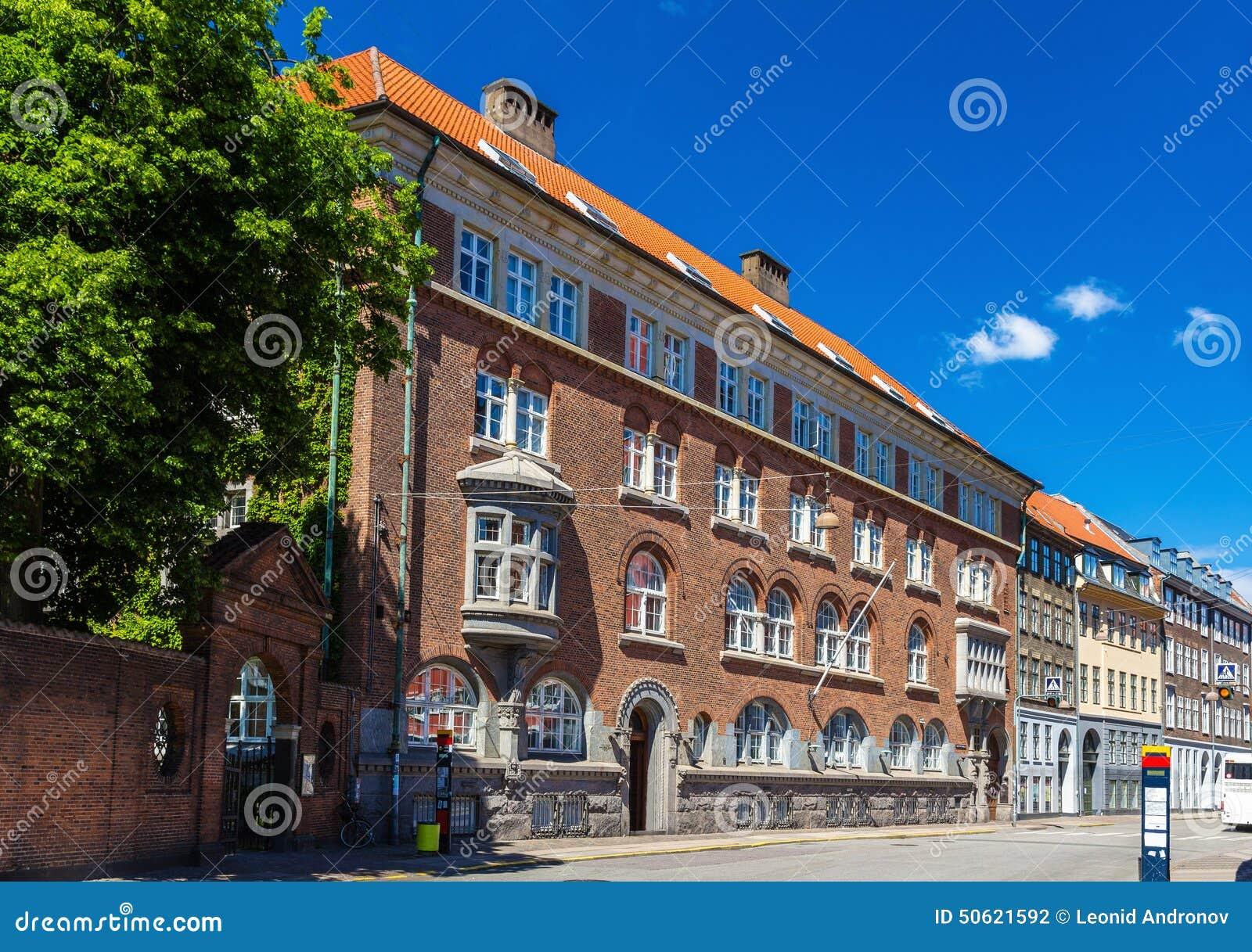 Byggnader i centret av Köpenhamnen