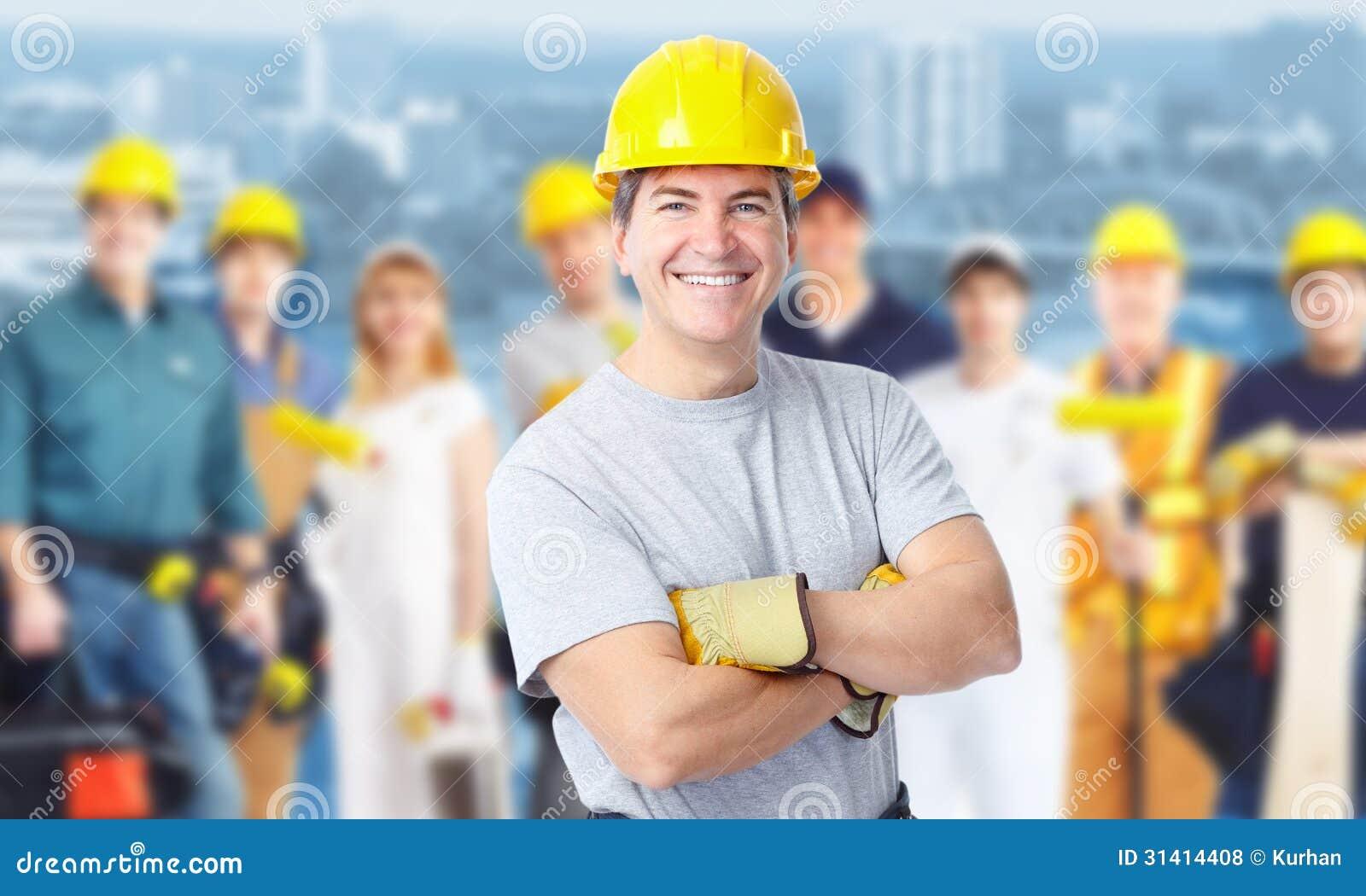 Byggnadsarbetareman.