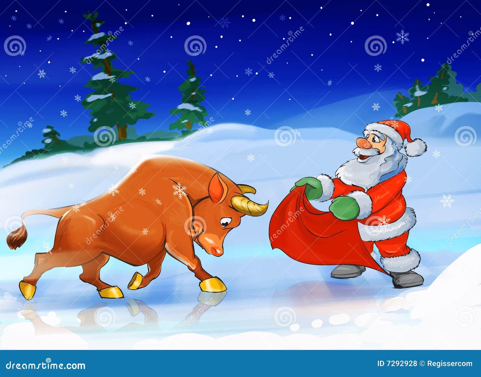Byk Claus Santa