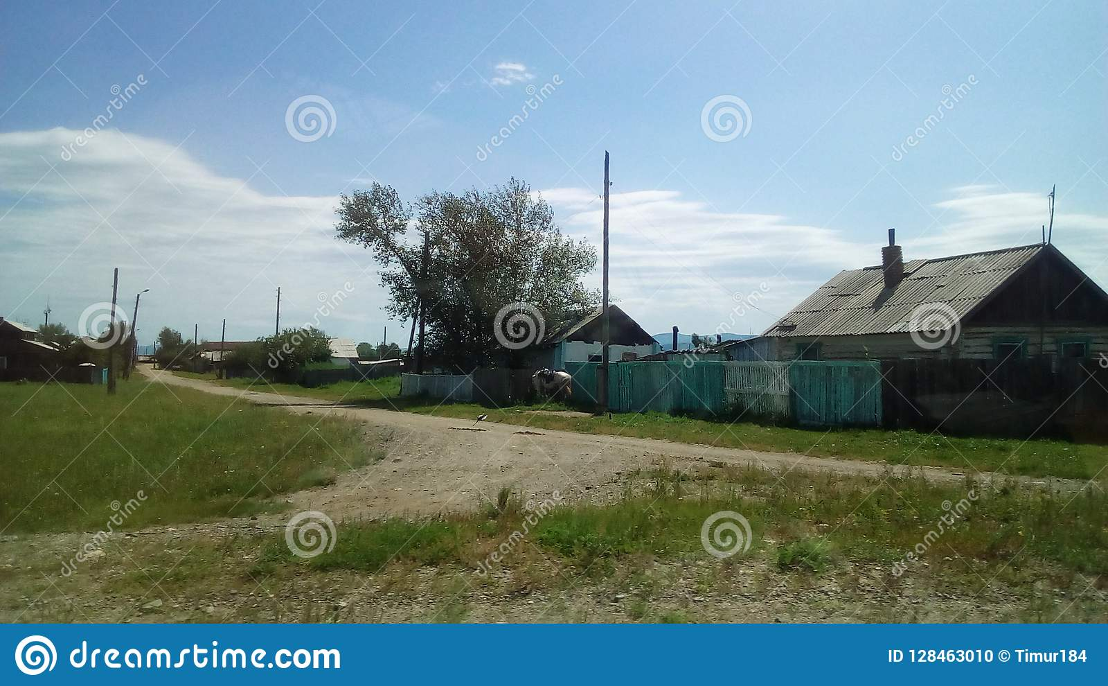 Byn i Sibirien