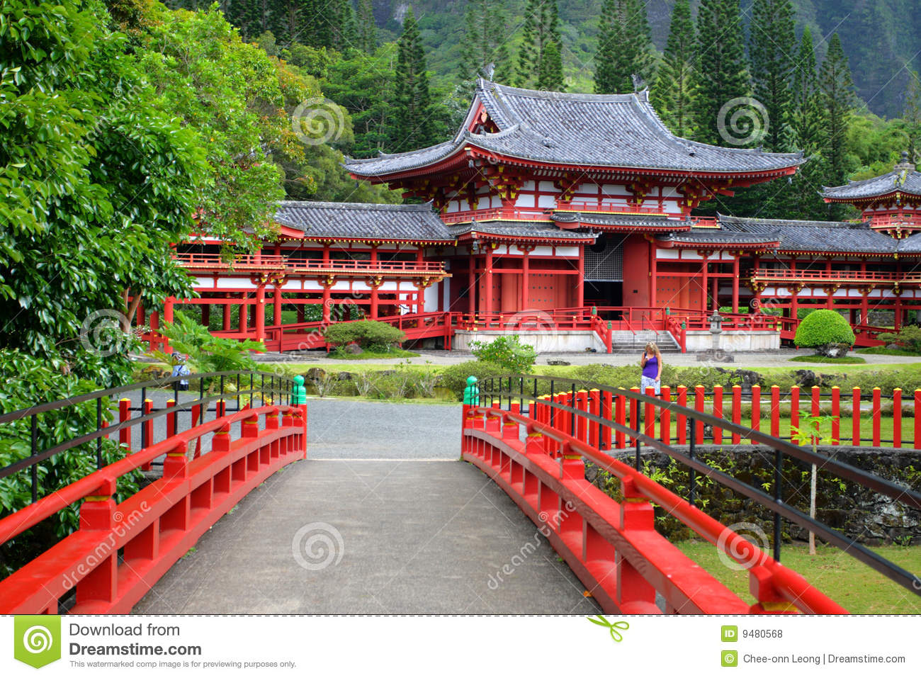 In temple o aho hawaii royalty free stock photos image 9480568