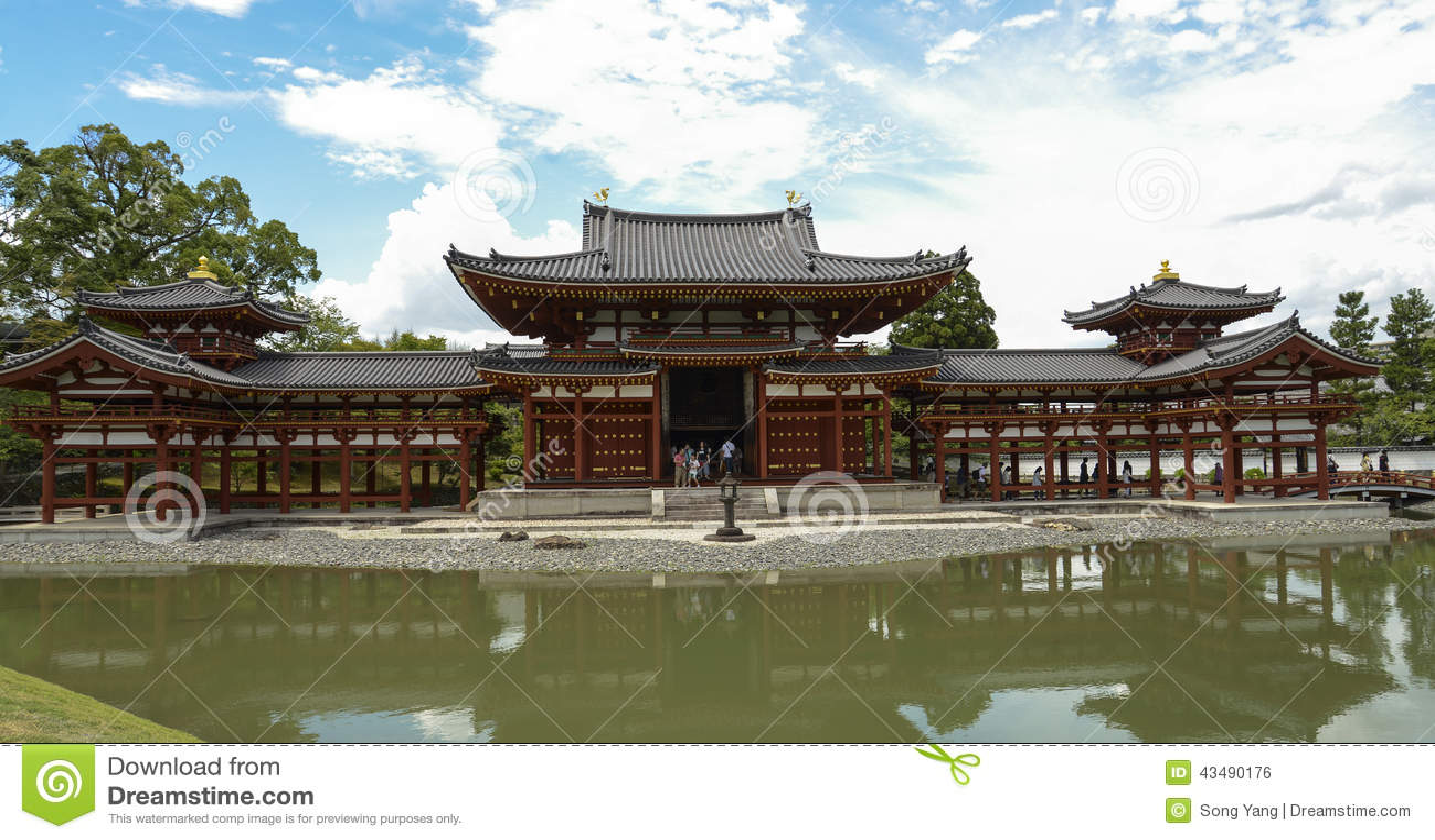 Byodoin temple in uji near kyoto in japan editorial photo for Architecture technique