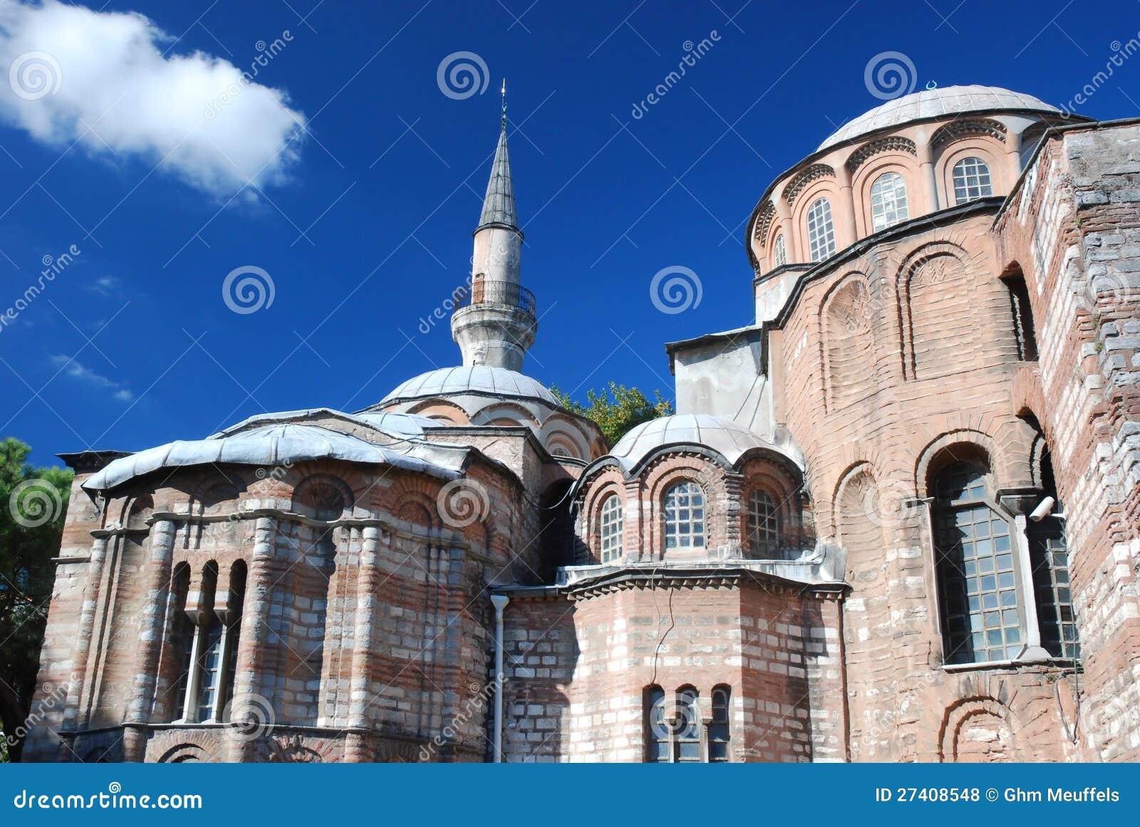 Byzantine church - Chora Church - Istanbul