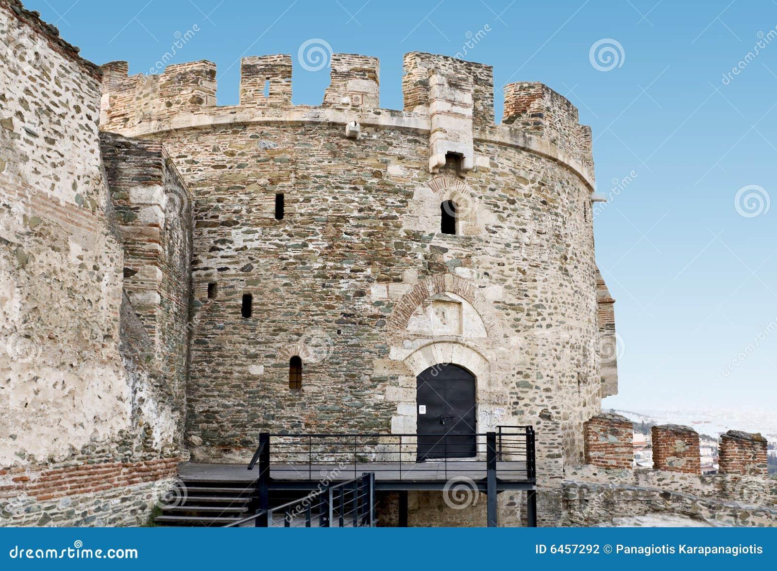 Byzantine fortyfikacja stara