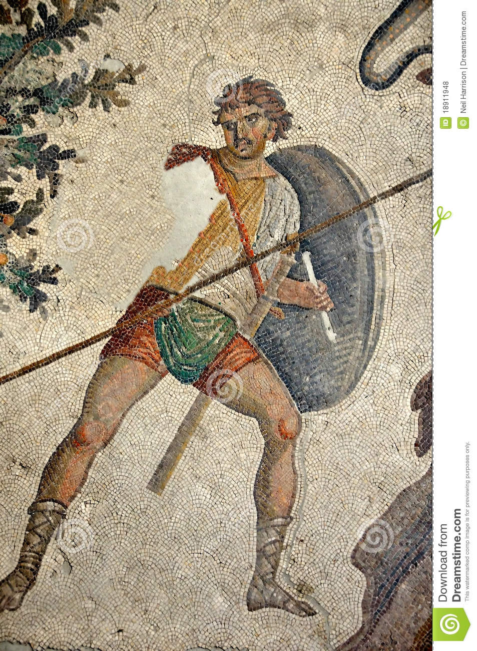Byzantine Soldier Royalty Free Stock Photos Image 18911948