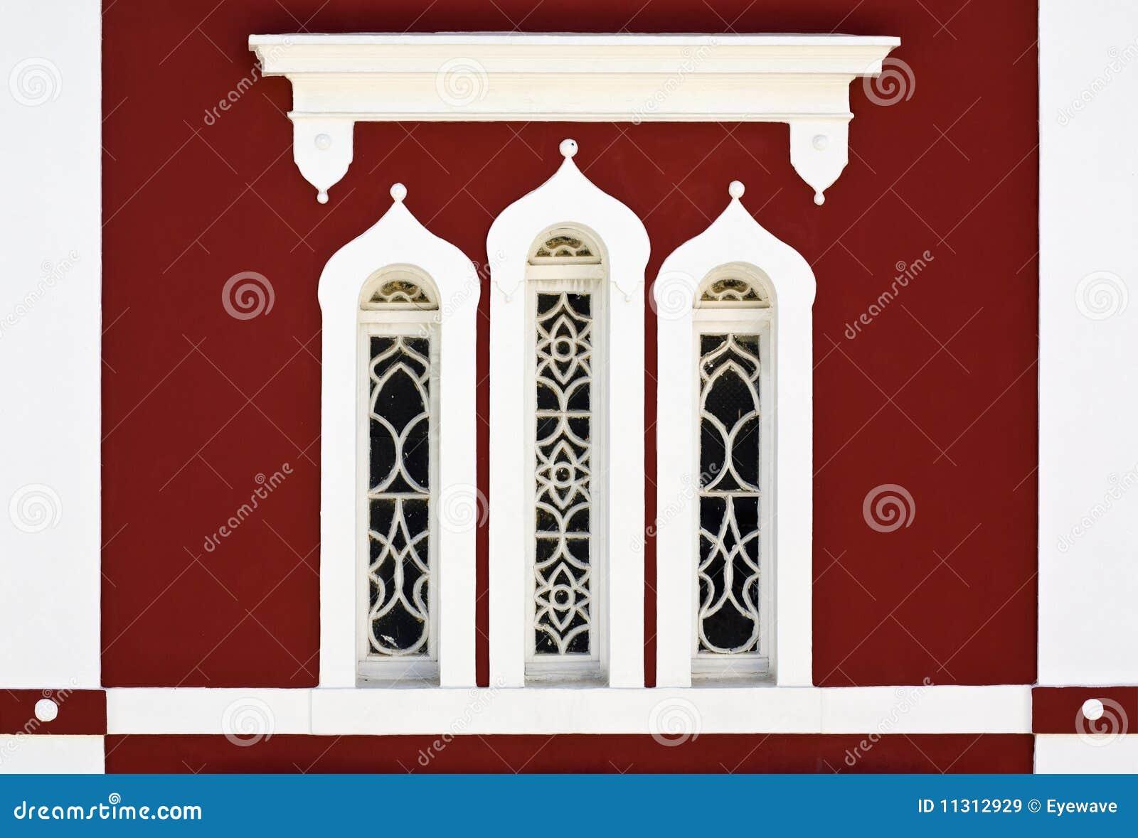 Byzantinisches Kirchefenster