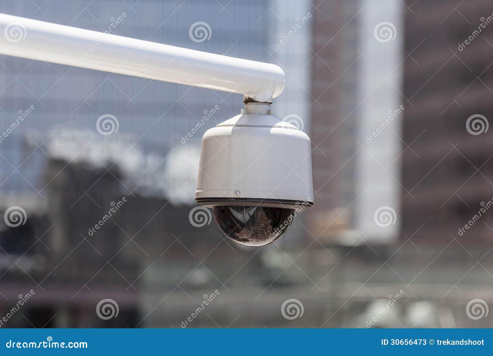 Cámara de seguridad urbana