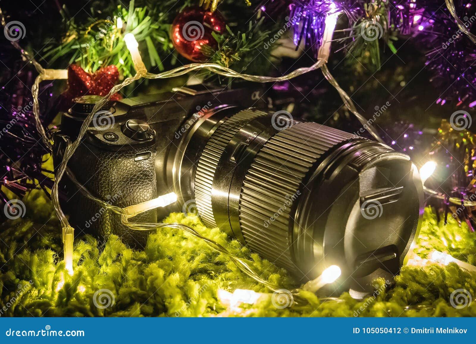 Fotos Profesionales De Navidad.Camara Profesional Como Regalo Por Ano Nuevo O La Navidad