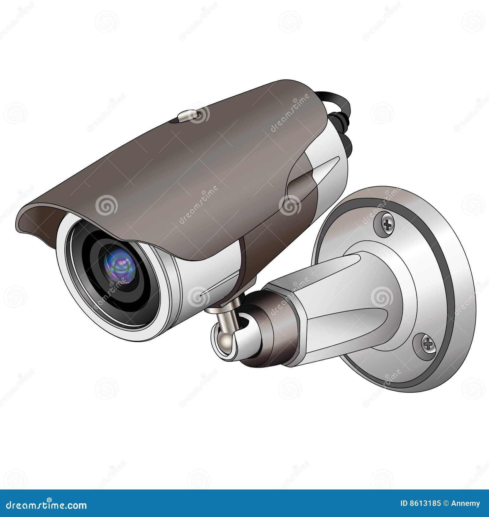 C maras de seguridad ilustraci n del vector imagen de - Camara de seguridad ...