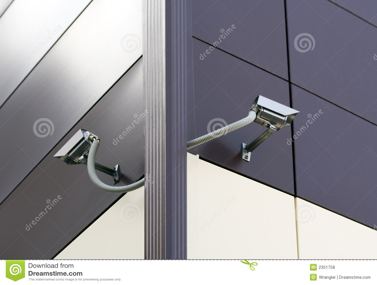 Cámaras de seguridad del CCTV.