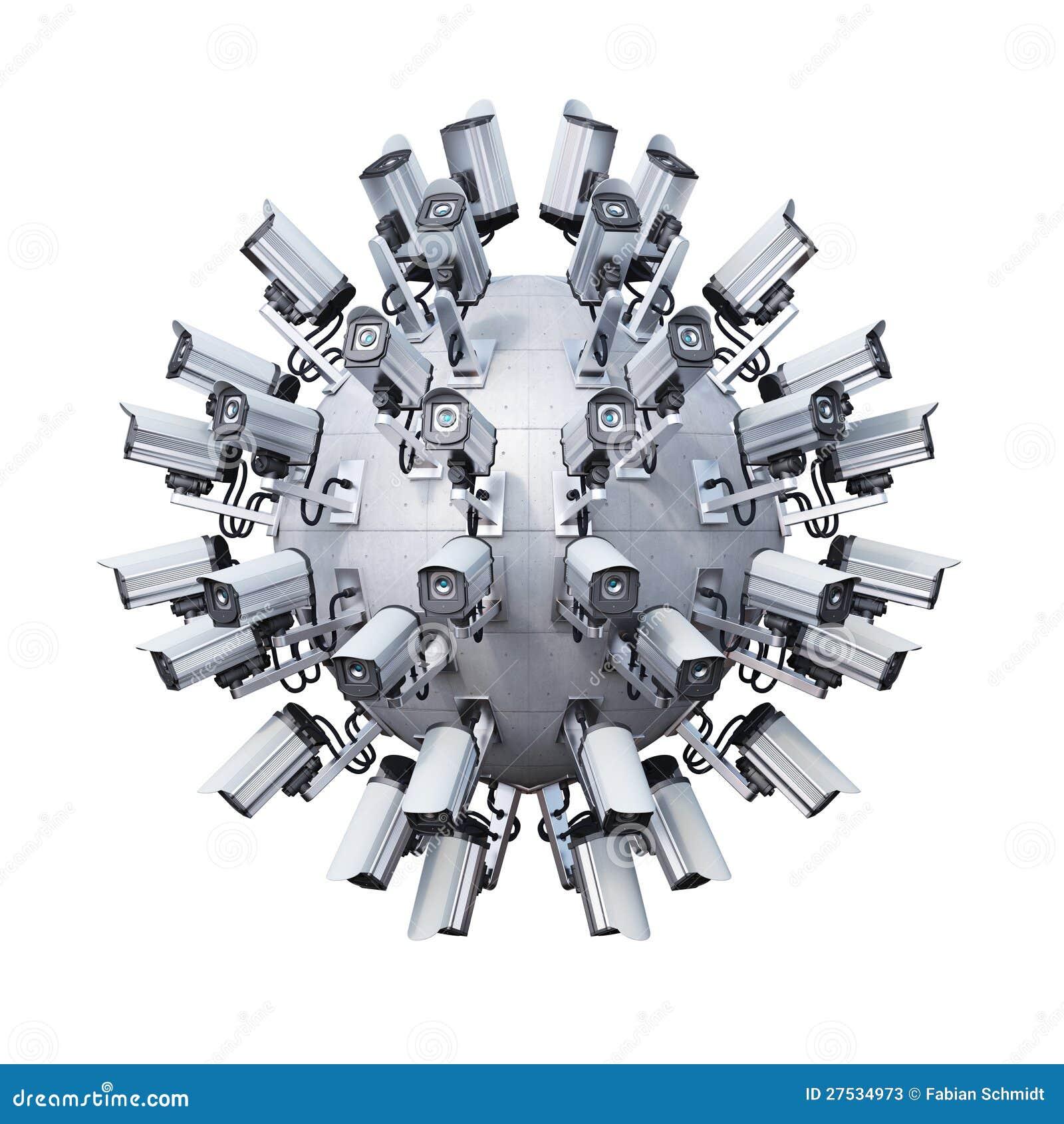 Cámaras de seguridad esféricas